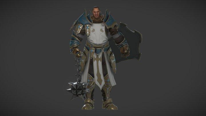 Crusader 3D Model
