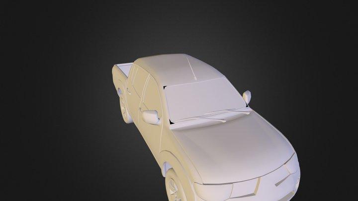 L200-OBJ 3D Model
