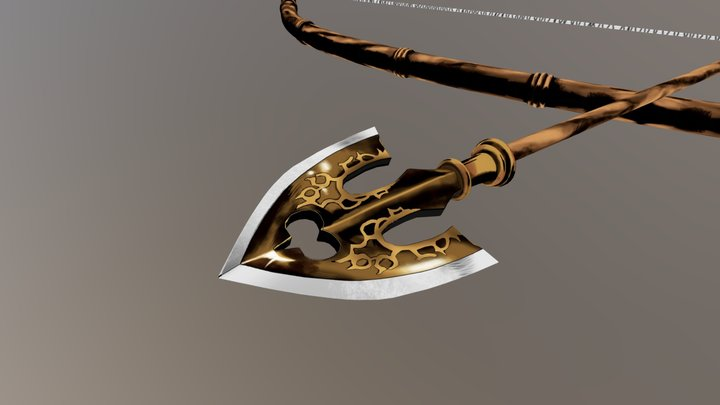 JOJO Bow and Arrow 3D Model