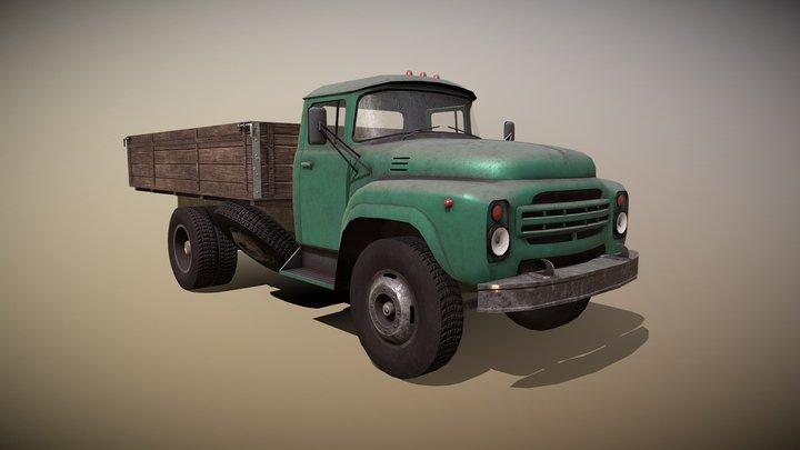 Zil130 3D Model
