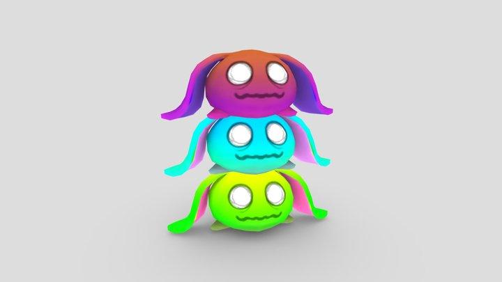 Jelly Beams - Turret 3D Model