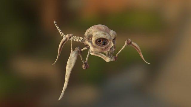 Skull bug 3D Model
