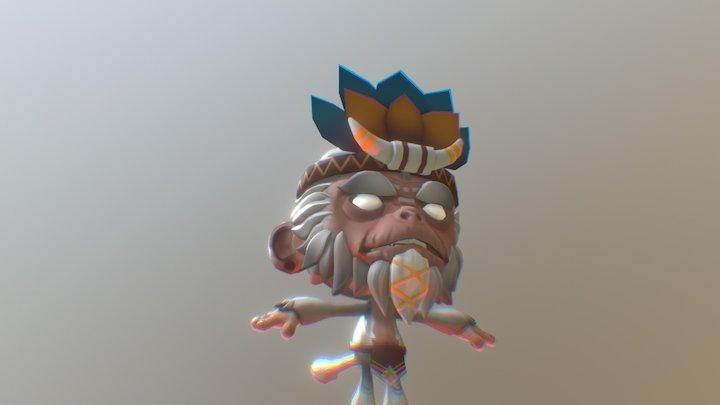 WitchDokta 3D Model