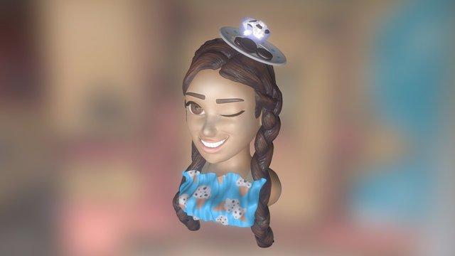 Cartoon Nana - Orange Caramel 3D Model