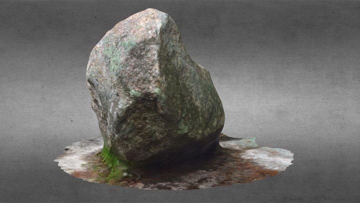 Bolder Rock 3D Model