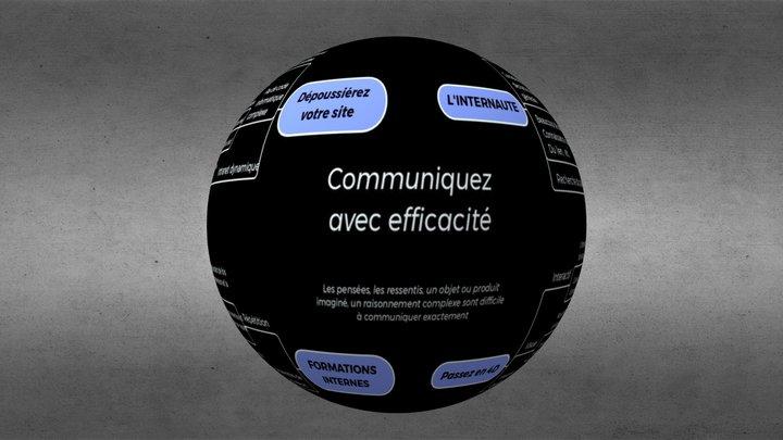 Communiquez avec efficacité 3D Model