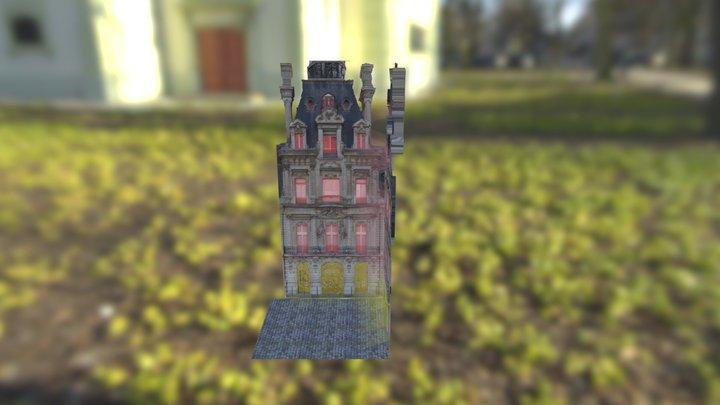 牆壁 3D Model