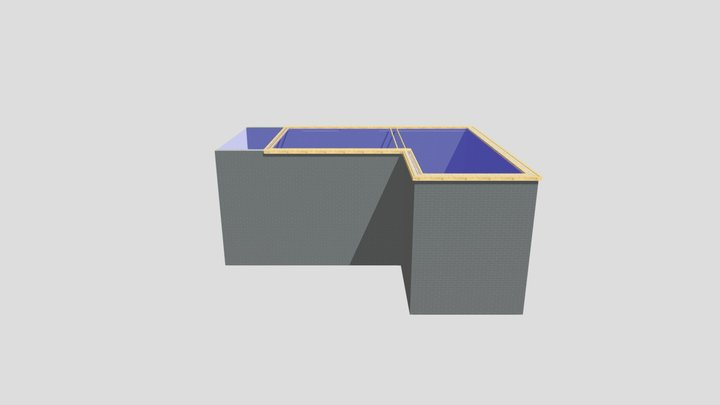 FlatRoof 3D Model
