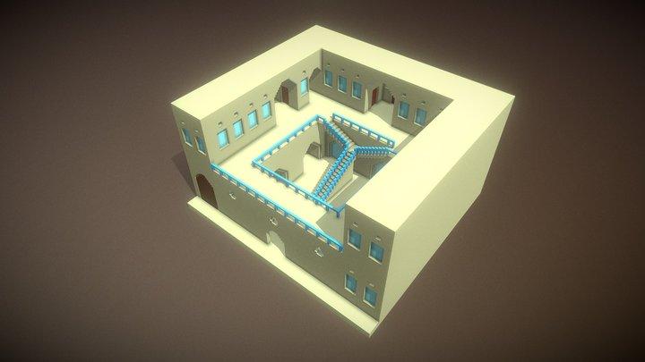 Mardin Uygulama Oteli 3D Model