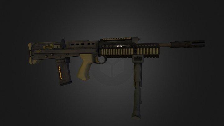SA80a2 3D Model