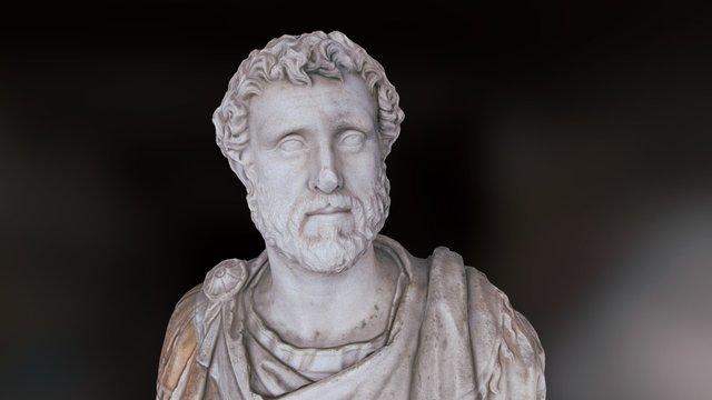 Emperor Antoninus Pius (138 - 161 A.D.) 3D Model