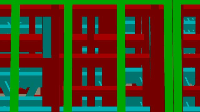 Arkitech - Multi Storey Building 3D Model