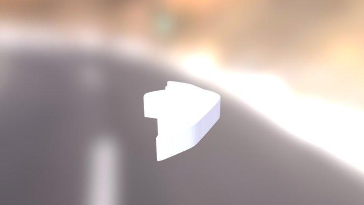 Logo-usazeno-s-plochou+zvětšeno140+ořez20mm 3D Model