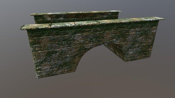 Underwater Bridge 3D Model