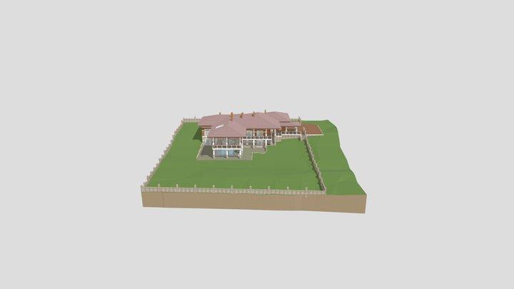 Акватория К-560 3D Model