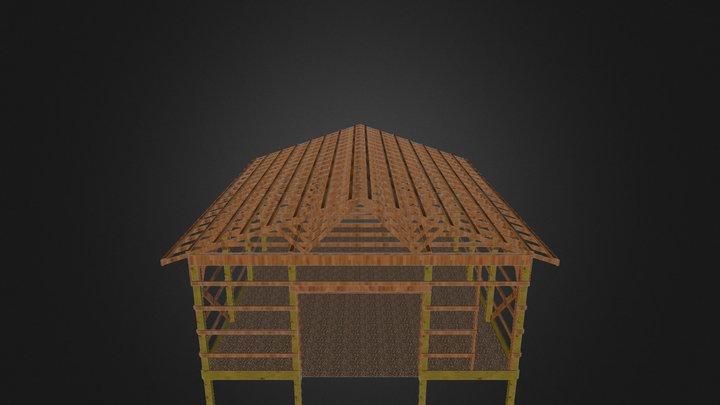Pole Barn - Draft 0411 3D Model