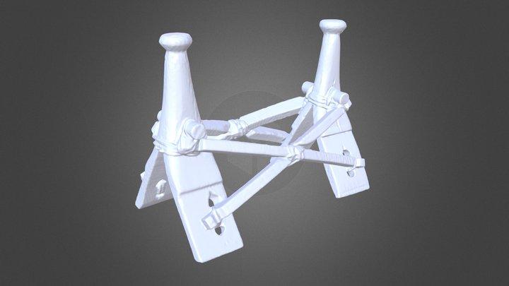 Camel Saddle 3D Model