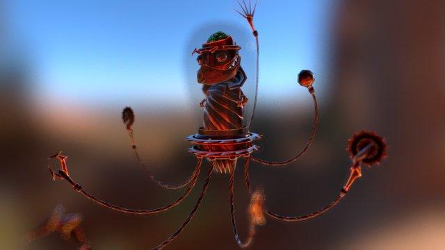 Inquisitor 3D Model