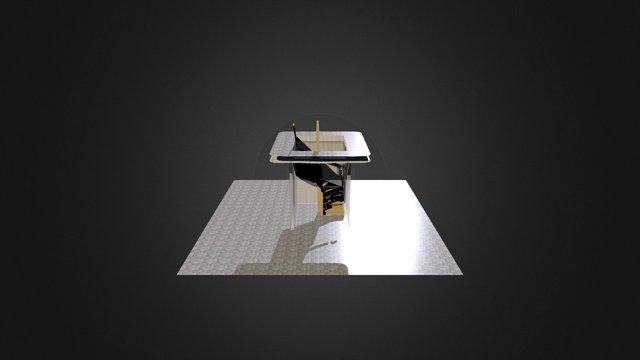 U-trappa 3D Model