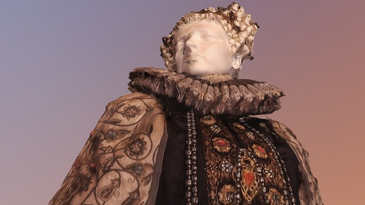 Mary Queen of Scots 3D Model