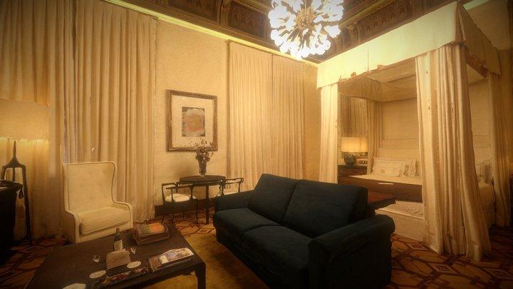 Cotton House Suite 3D Model