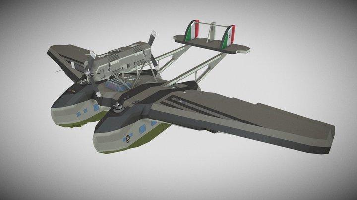 Savoia-Marchetti S.55 - Stormworks 3D Model