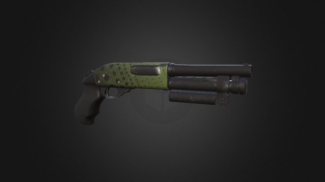 Shorty Shotty 3D Model