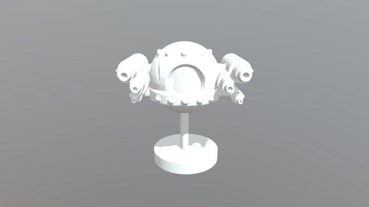 Gorlos Murk - Seekers of Orion Ship 3D Model