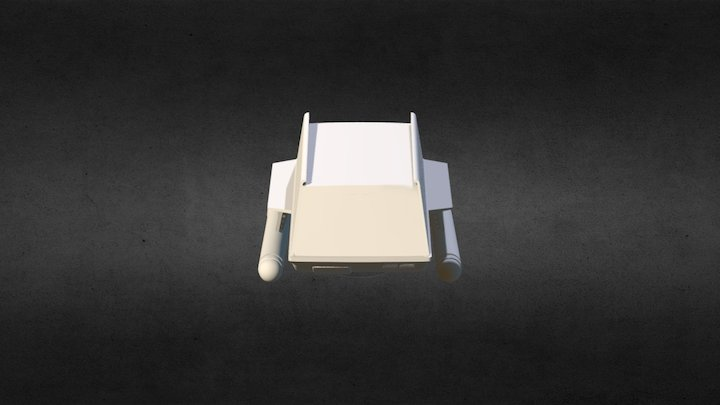 Shuttlecraft Galileo 3D Model