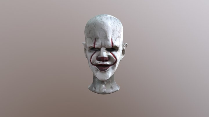 Penneywise Mask Scan 3D Model