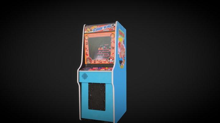 Donkey Kong WIP 3D Model
