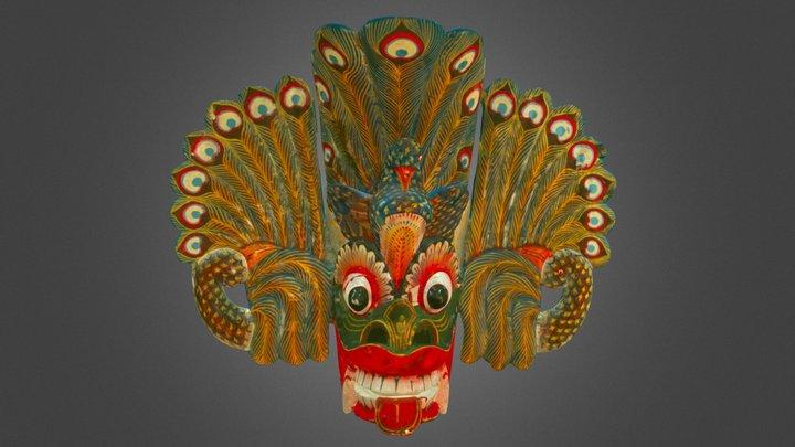 Wooden Mask from Ambalangoda 3D Model