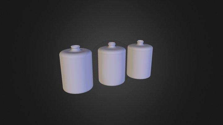 marianna's bottles 3D Model