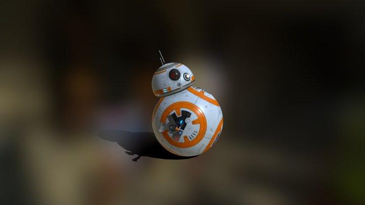 Star Wars BB-8 3D Model