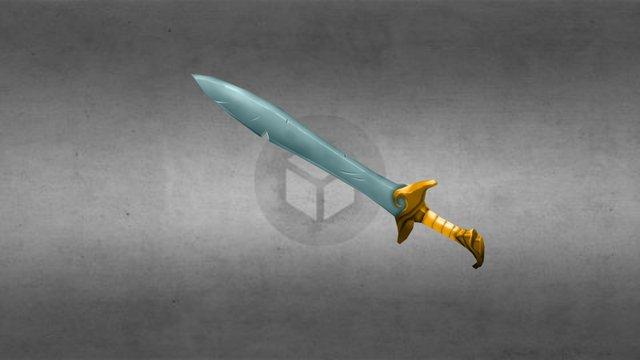 Short sword 3D Model