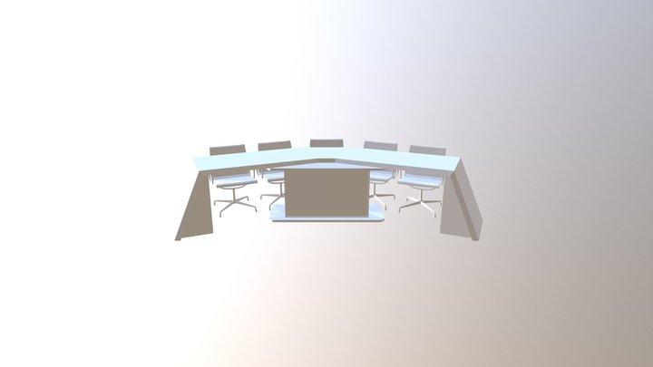 Mesa 4mts ancho 3D Model