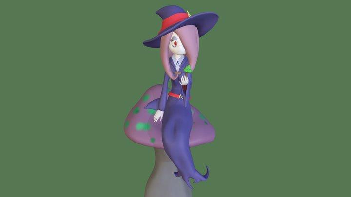 Little Witch Academia - Sucy Manbavaran 3D Model
