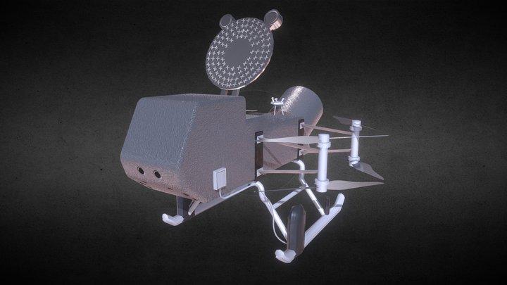 NASA Dragon Fly 3D Model