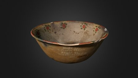 Catawba Bowl (2176p3) 3D Model