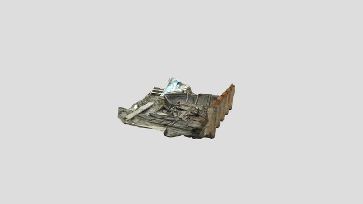 Wreck 4 Stage 3 3D Model