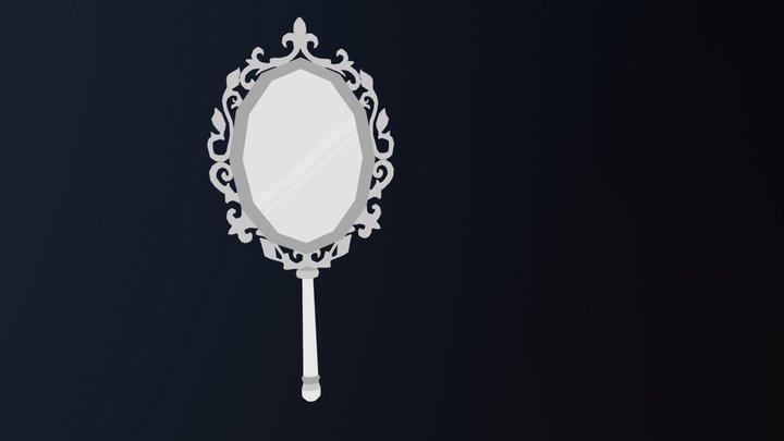 White Mirror 3D Model
