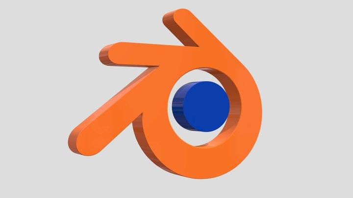 Free Blender Logo 3d Model 3D Model