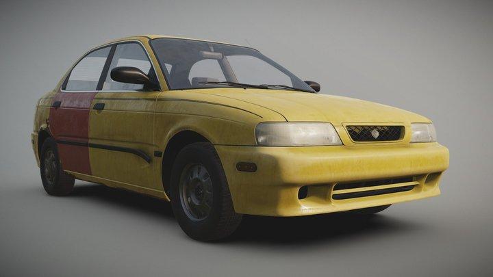 Suzuki Esteem 1998 (Saul Goodman version) 3D Model