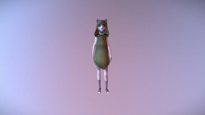 mainCharacter_stuck 3D Model