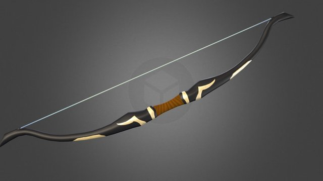 Rus' Bow 3D Model