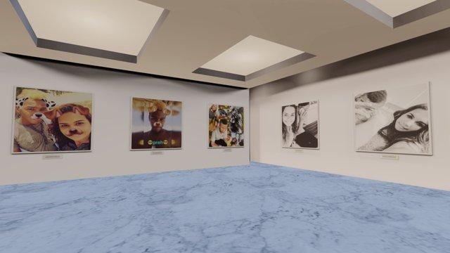 Instamuseum for @justin2ferreras 3D Model