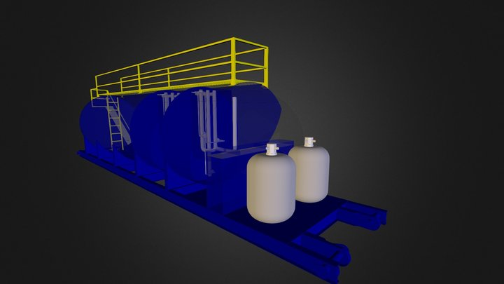 PTAR 8000 Gls 3D Model