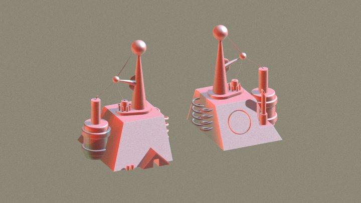 V.E.P. VIII: Electric Power Station 3D Model