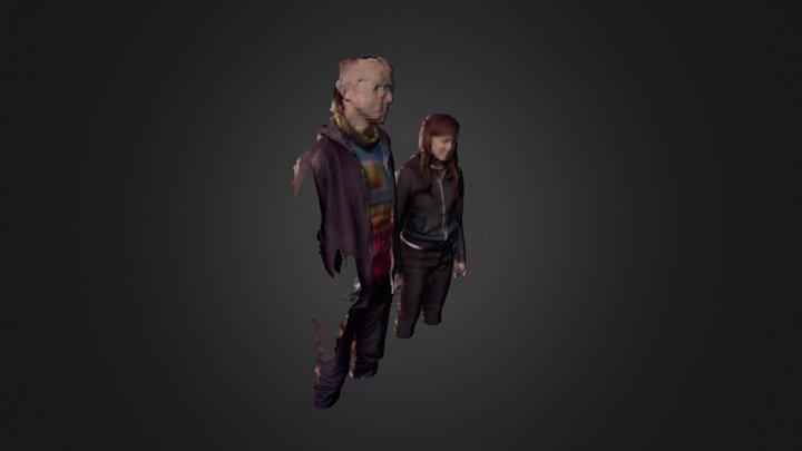 Jenn and Mike 3D Model
