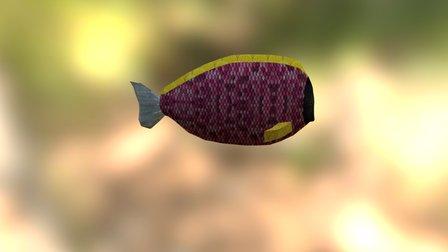 Fish Pink 3D Model